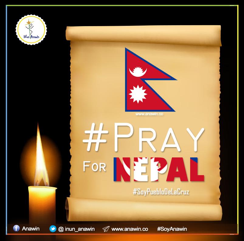 Oremos por Nepal